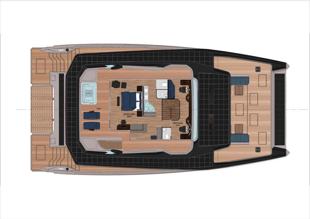 Interior Alva Yacht