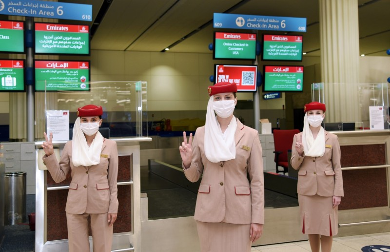 Emirates Vaccinated Staff